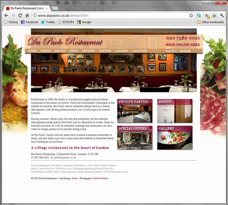 Click on image of DA PAOLO RESTAURANT for more details