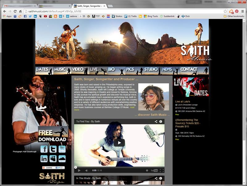 Click on image of Saith Music for more details