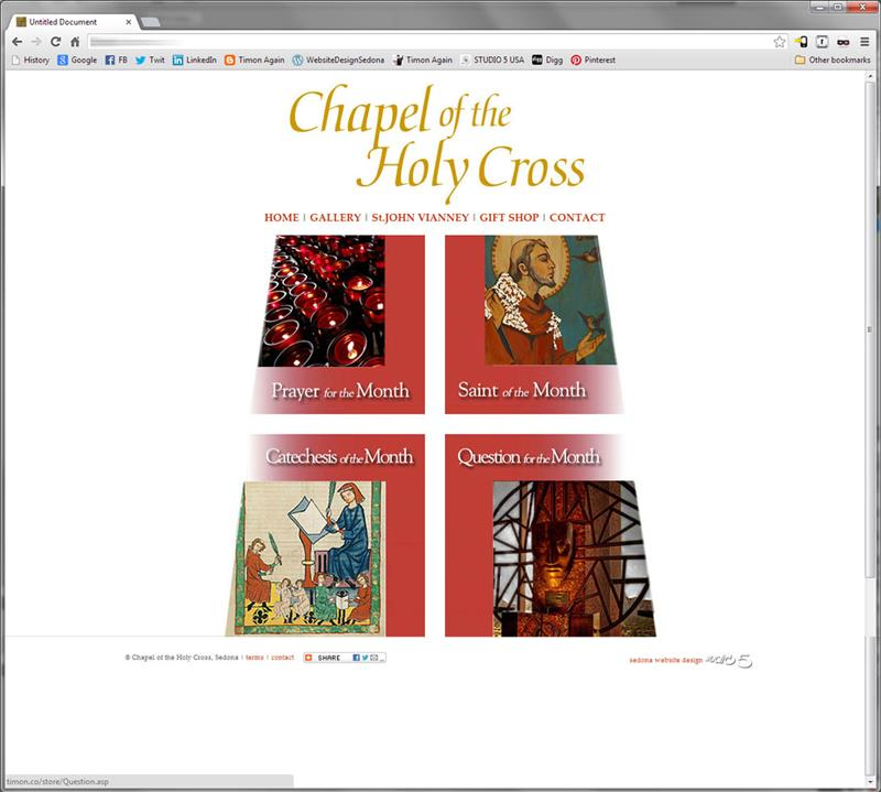 Click on image of Chapel of the Holy Cross for more details