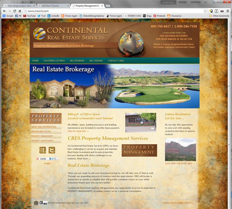 Click on image of Real Estate Website Design for more details