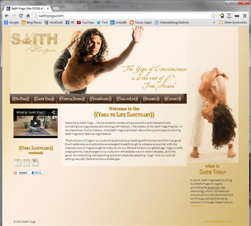 Click on image of Yoga Video Website for more details