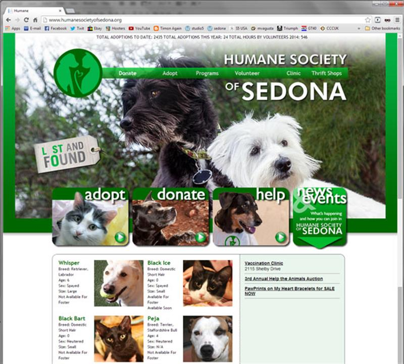 Click on image of Humane Society of Sedona for more details